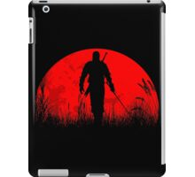 Red moon iPad Case/Skin