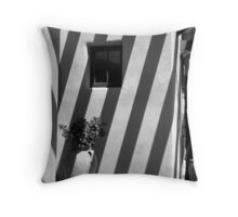 Lines of Shadows Throw Pillow