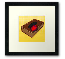 Heart of the Cards Framed Print