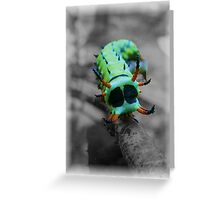 Green monster? Greeting Card