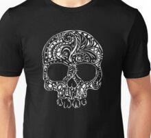 Tribal tattoo style gothic skull  Unisex T-Shirt