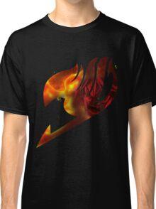Fairy tail logo, natsu's rage Classic T-Shirt