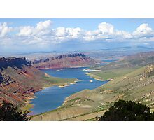 Flaming Gorge Photographic Print