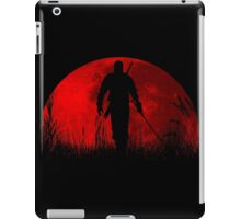 Red moon v2 iPad Case/Skin
