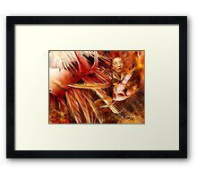 fury of the Phoenix Framed Print
