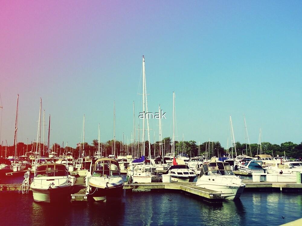 Boats V by amak