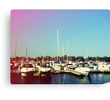 Boats V Canvas Print