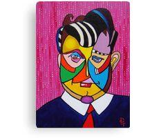 The Salesman Canvas Print