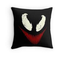Venom's Disturbia Throw Pillow
