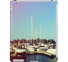 Boats V iPad Case/Skin