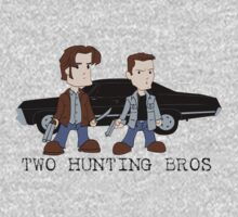 Two Hunting Bros One Piece - Long Sleeve