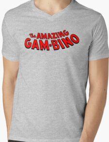 The Amazing Gambino Mens V-Neck T-Shirt