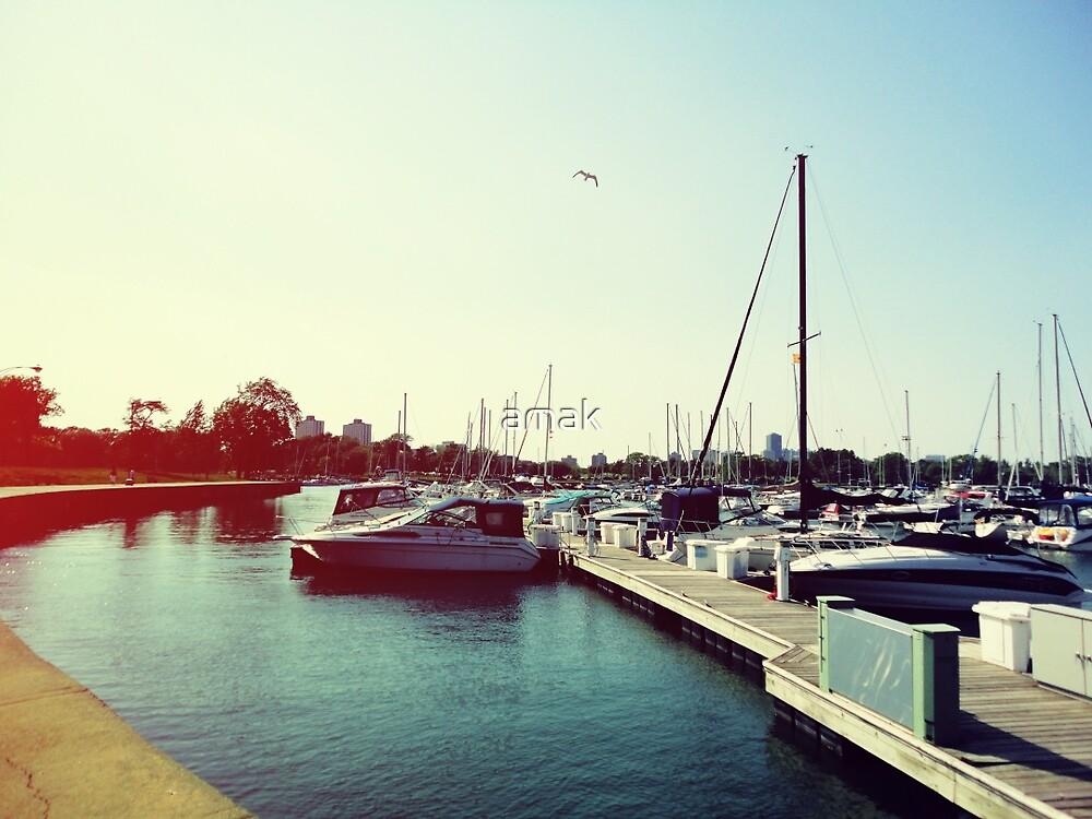 Boats I by amak
