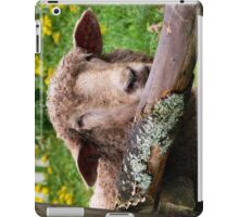 Here's looking at Ewe iPad Case/Skin