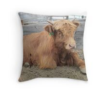Moose  15 March 2015 Throw Pillow