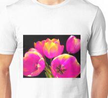 Colours Tulips Unisex T-Shirt
