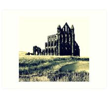 Whitby Abbey Art Print