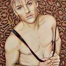 Aaron Carter Color Pencil @ www.KeithMcDowellArtist.com by © Keith McDowell, Artist
