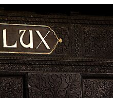 Lux  Photographic Print