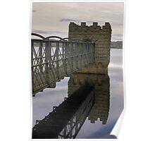 Hury Reservoir - Co Durham Poster