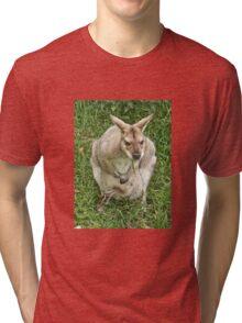 Mrs Wallaby Tri-blend T-Shirt