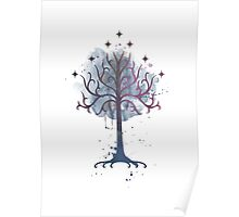 Tree of Gondor, Lord of the Rings Poster