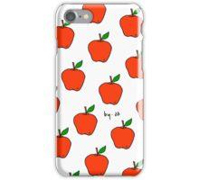 Apple Pattern by Leeah iPhone Case/Skin
