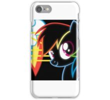 Neon-Rainbow Dash iPhone Case/Skin