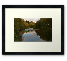 Broadmeadow River Framed Print