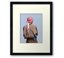 Go for the blue ! Framed Print