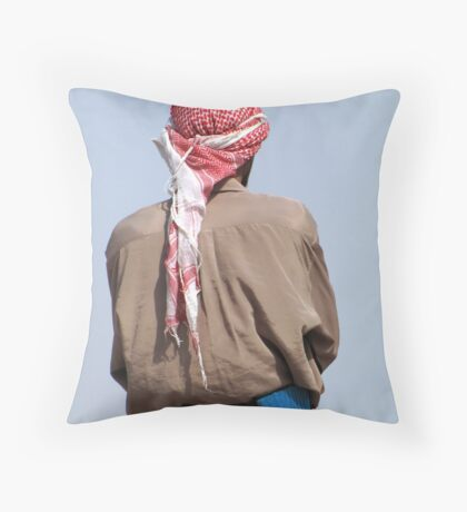 Go for the blue ! Throw Pillow
