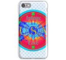 Infinite Love Series-USA mandala of Love iPhone Case/Skin