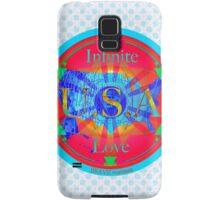 Infinite Love Series-USA mandala of Love Samsung Galaxy Case/Skin