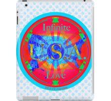 Infinite Love Series-USA mandala of Love iPad Case/Skin
