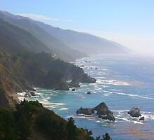 The Coast, California U.S.A by Jamie F