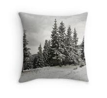 Winter fir groove. Throw Pillow