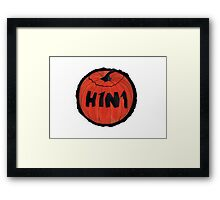 Scary Tricky Flu Framed Print