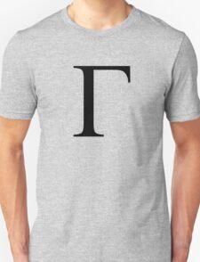 Gamma. Greek alphabet. T-Shirt