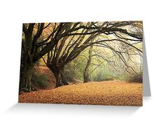 Autumn Spirit Greeting Card