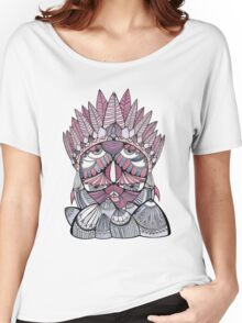 """""""Pueo"""" Multidimensional Owl Women's Relaxed Fit T-Shirt"""
