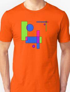 Color Blocks Green T-Shirt