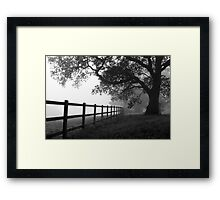 neither here ... nor there  Framed Print
