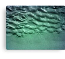 Coloured Sand Canvas Print