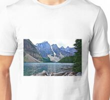 Moraine Lake in Color Unisex T-Shirt