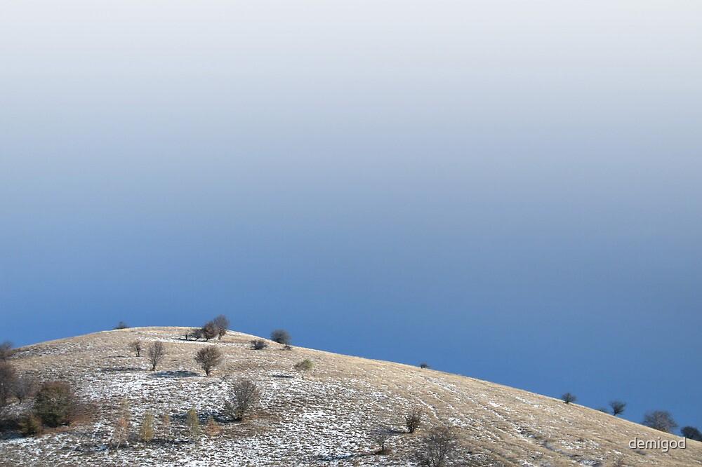 Minimal winter hill. by demigod