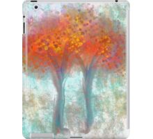 Dazzling Trees in Red, Orange, and Yellow iPad Case/Skin
