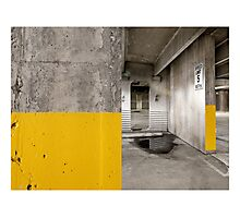Diptych Yellow Photographic Print