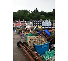 Fishing Gear at Tobermory Photographic Print