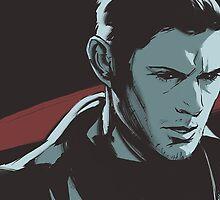 Supernatural - Demon Dean by feredir