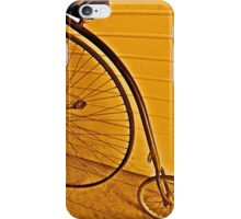 Penny - farthing iPhone Case/Skin